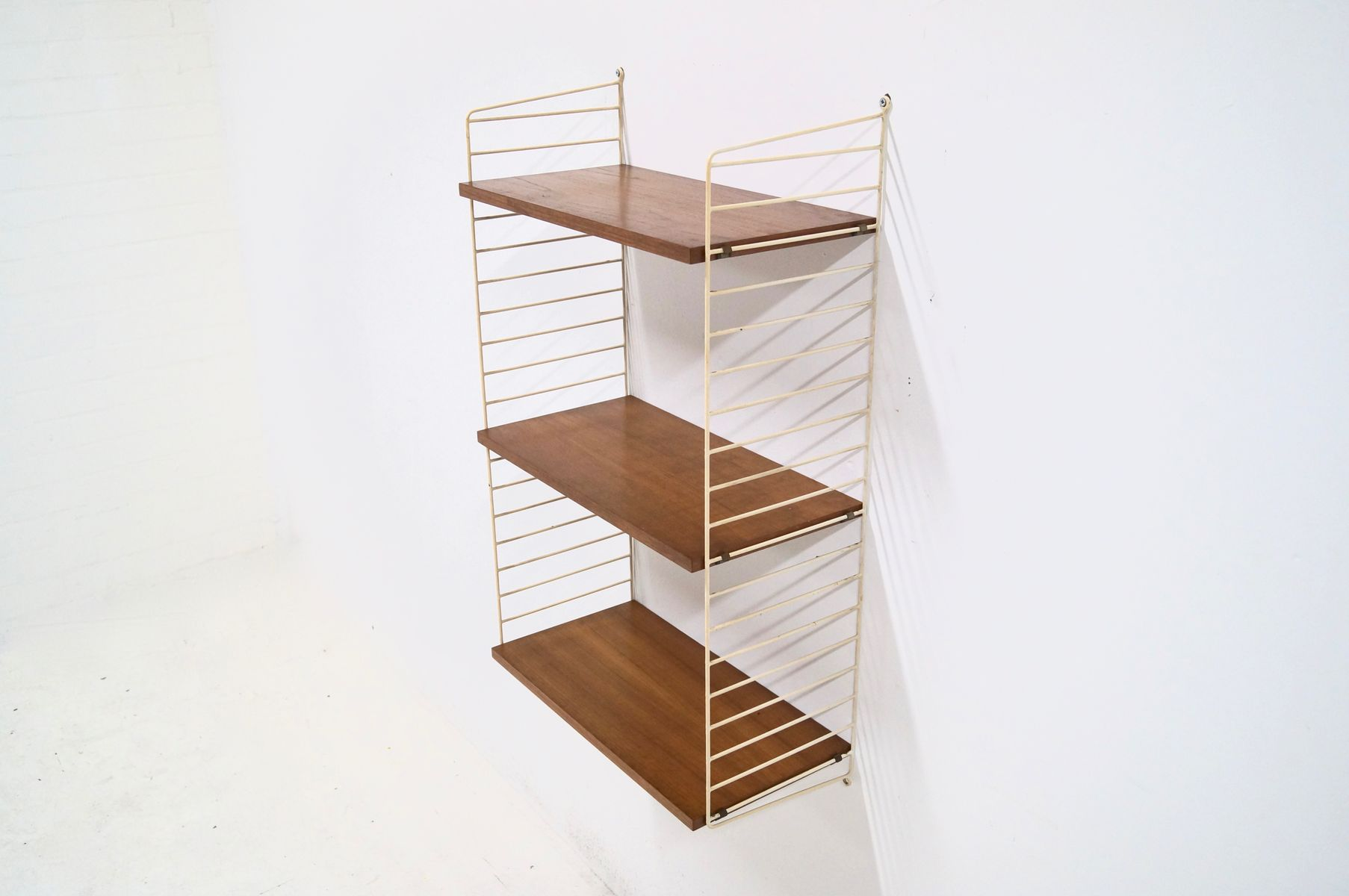 Teak Ladder Shelf Wall Unit By Kajsa & Nils Nisse