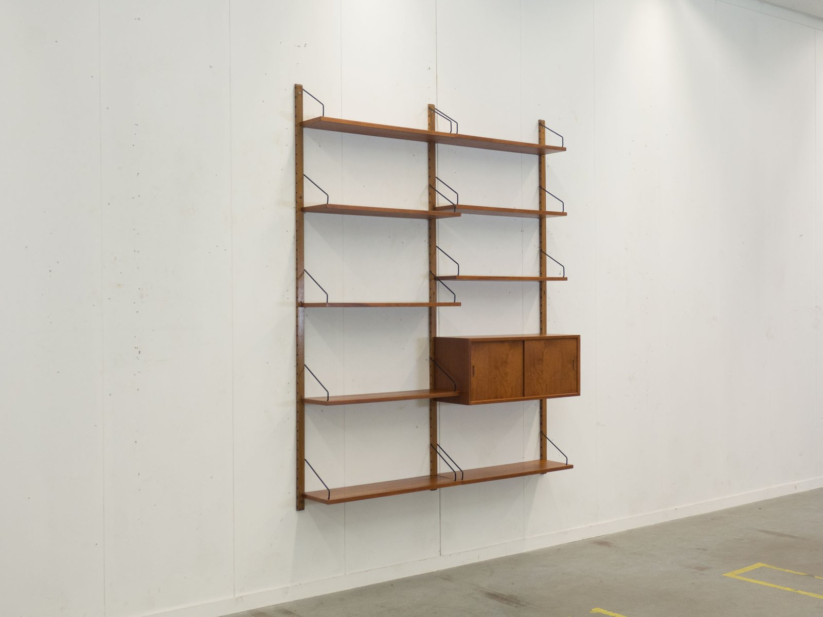Vintage Royal System Wall Unit By Poul Cadovius For Cado