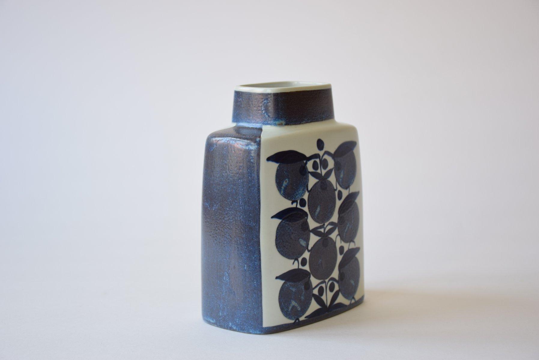 Mid Century Scandinavian Tenera Vase By Grethe Helland Hansen For Royal