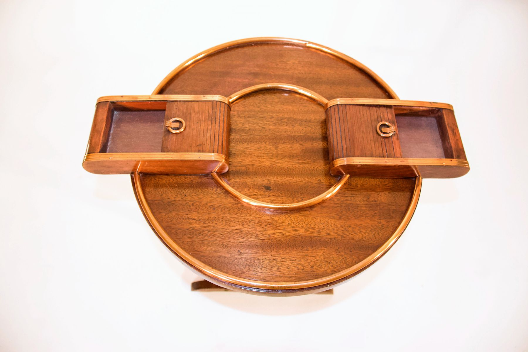 Art Deco Coffee Table With Cigar Holder 5 1,89000