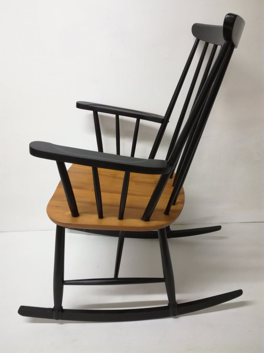 Scandinavian Rocking Chair By Ilmari Tapiovaara, 1960s