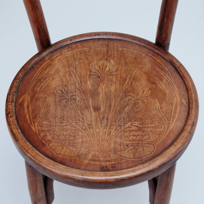 Antique Bentwood Chairs from Codina, 1900s, Set of 2 - Antique Bentwood Chairs From Codina, 1900s, Set Of 2 For Sale At Pamono