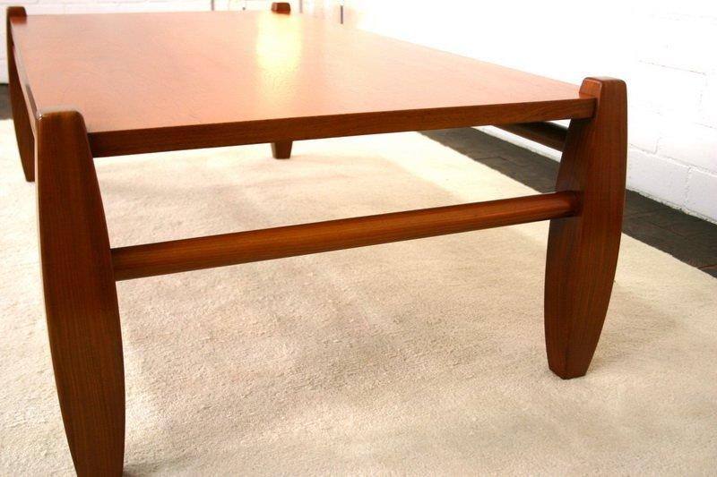 vintage skandinavischer teak couchtisch bei pamono kaufen. Black Bedroom Furniture Sets. Home Design Ideas