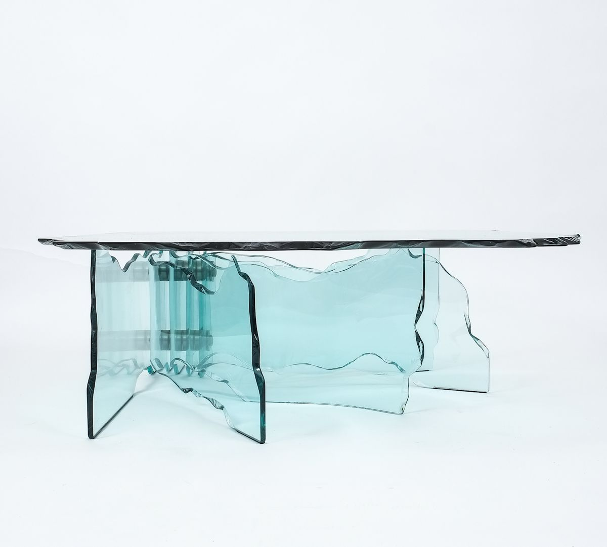 Shell Coffee Table By Danny Lane For Fiam, 1980s 12. $27,223.00. Price Per  Piece
