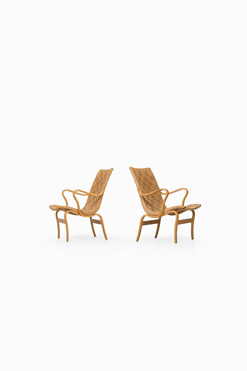 skandinavische eva st hle von bruno mathsson f r karl. Black Bedroom Furniture Sets. Home Design Ideas