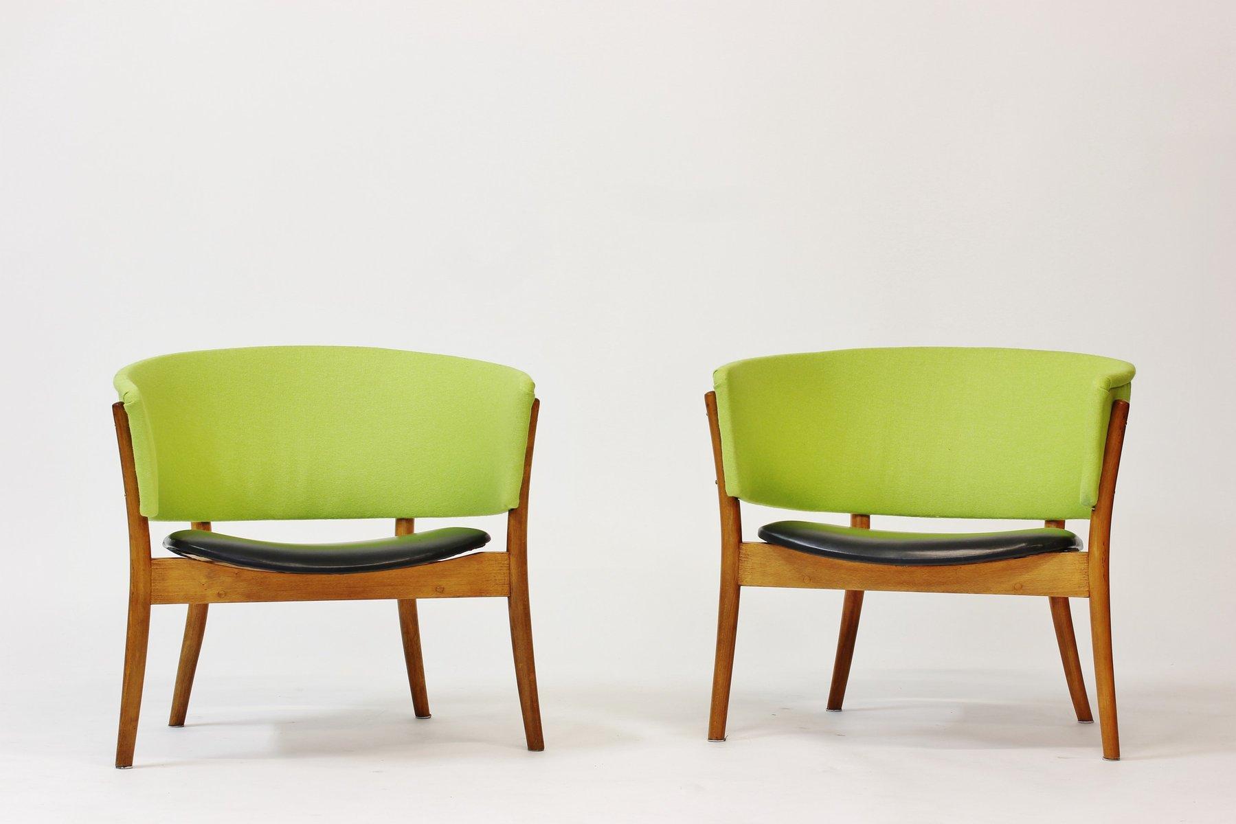 vintage st hle von nanna ditzel f r s ren wiladsen 2er. Black Bedroom Furniture Sets. Home Design Ideas