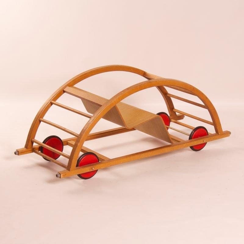 kinderauto schaukelstuhl von brockhage und andr f r siegfried lenz berggieszh bel 1950 bei. Black Bedroom Furniture Sets. Home Design Ideas