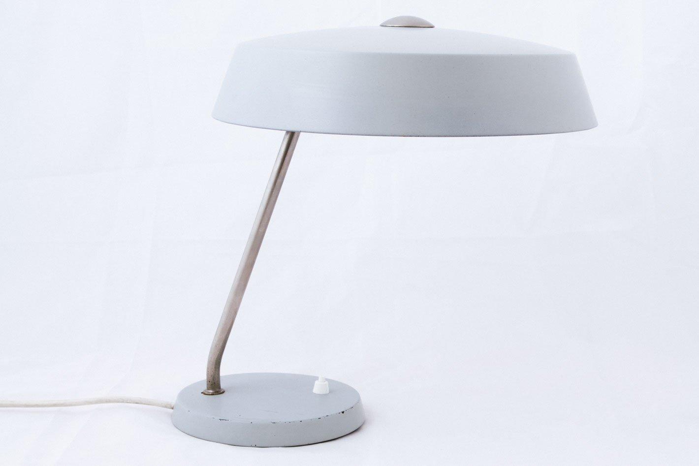 Lampada da tavolo grigia di philips anni 39 50 in vendita - Lampada da tavolo philips ...