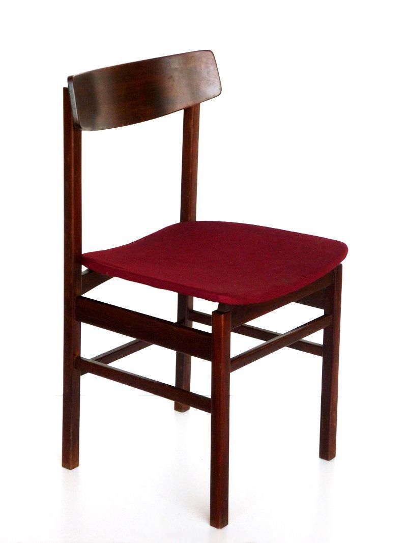 palisander esszimmerst hle von fratelli reguitti 6er set bei pamono kaufen. Black Bedroom Furniture Sets. Home Design Ideas