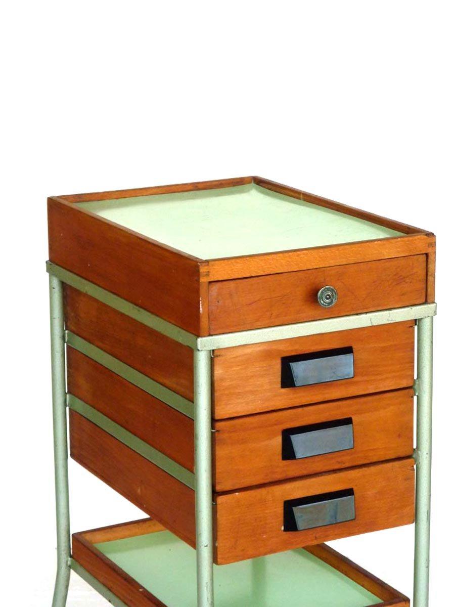 Werkstatt Schrank mit Schubladen, 1950er bei Pamono kaufen