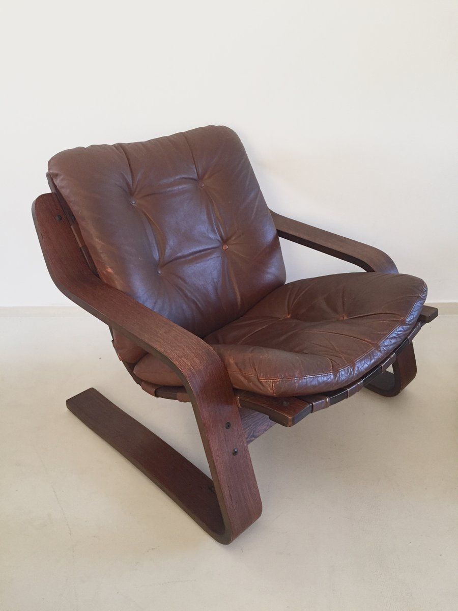 vintage leather chairs for sale vintage leather lounge chair with plywood frame for 8838