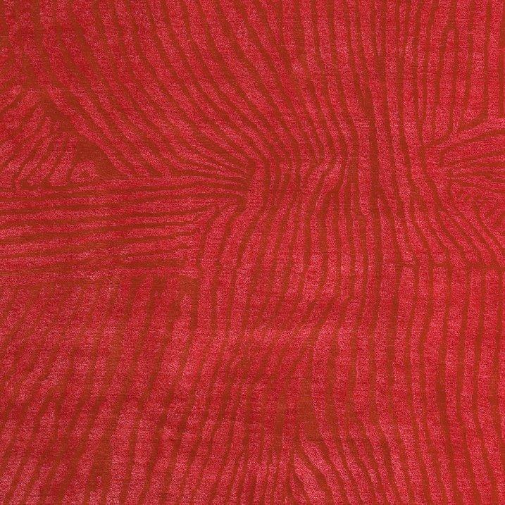 roter gilio teppich aus wolle und seide von jan kath bei pamono kaufen. Black Bedroom Furniture Sets. Home Design Ideas
