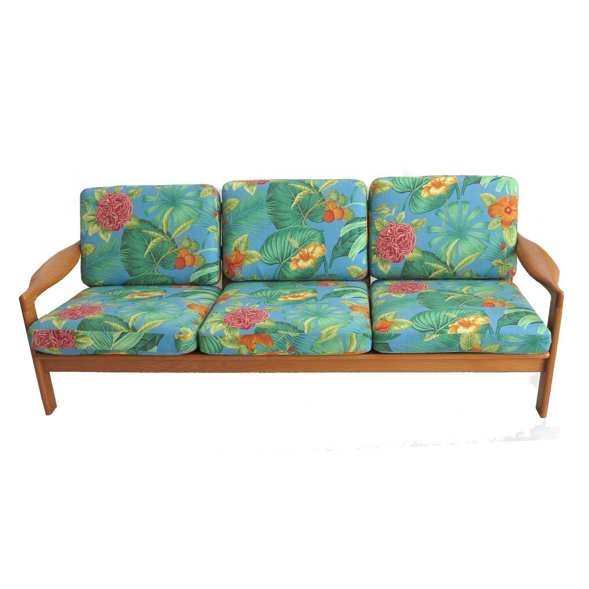 skandinavisches 3 sitzer sofa bei pamono kaufen. Black Bedroom Furniture Sets. Home Design Ideas