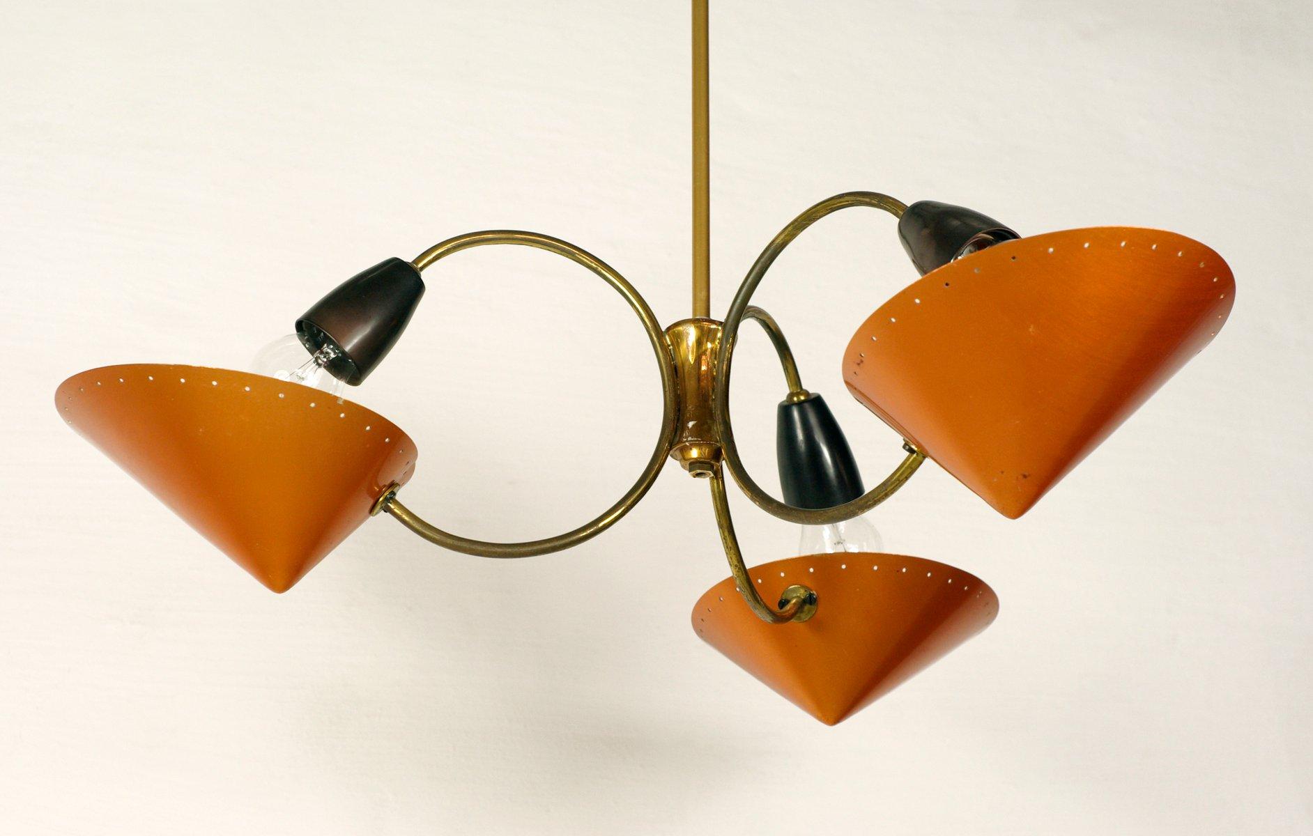 vintage messing kronleuchter 1950er bei pamono kaufen. Black Bedroom Furniture Sets. Home Design Ideas