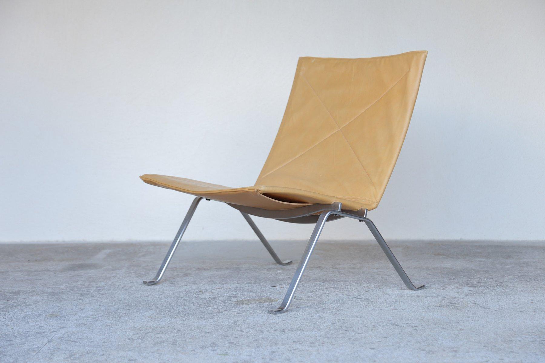 PK22 Easy Chair by Poul Kjaerholm for E Kold Christensen for sale at Pamono