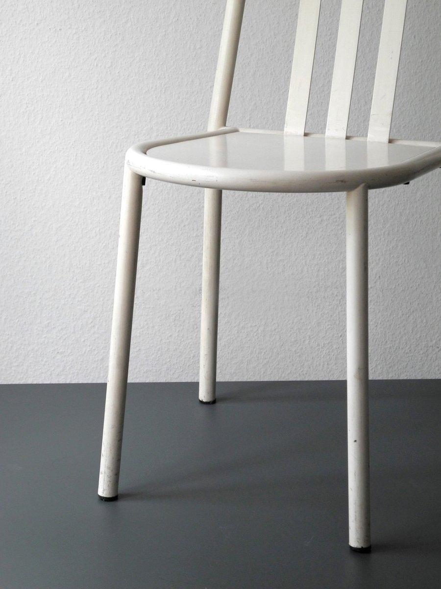 wei e esszimmerst hle von robert mallet stevens 2er set. Black Bedroom Furniture Sets. Home Design Ideas