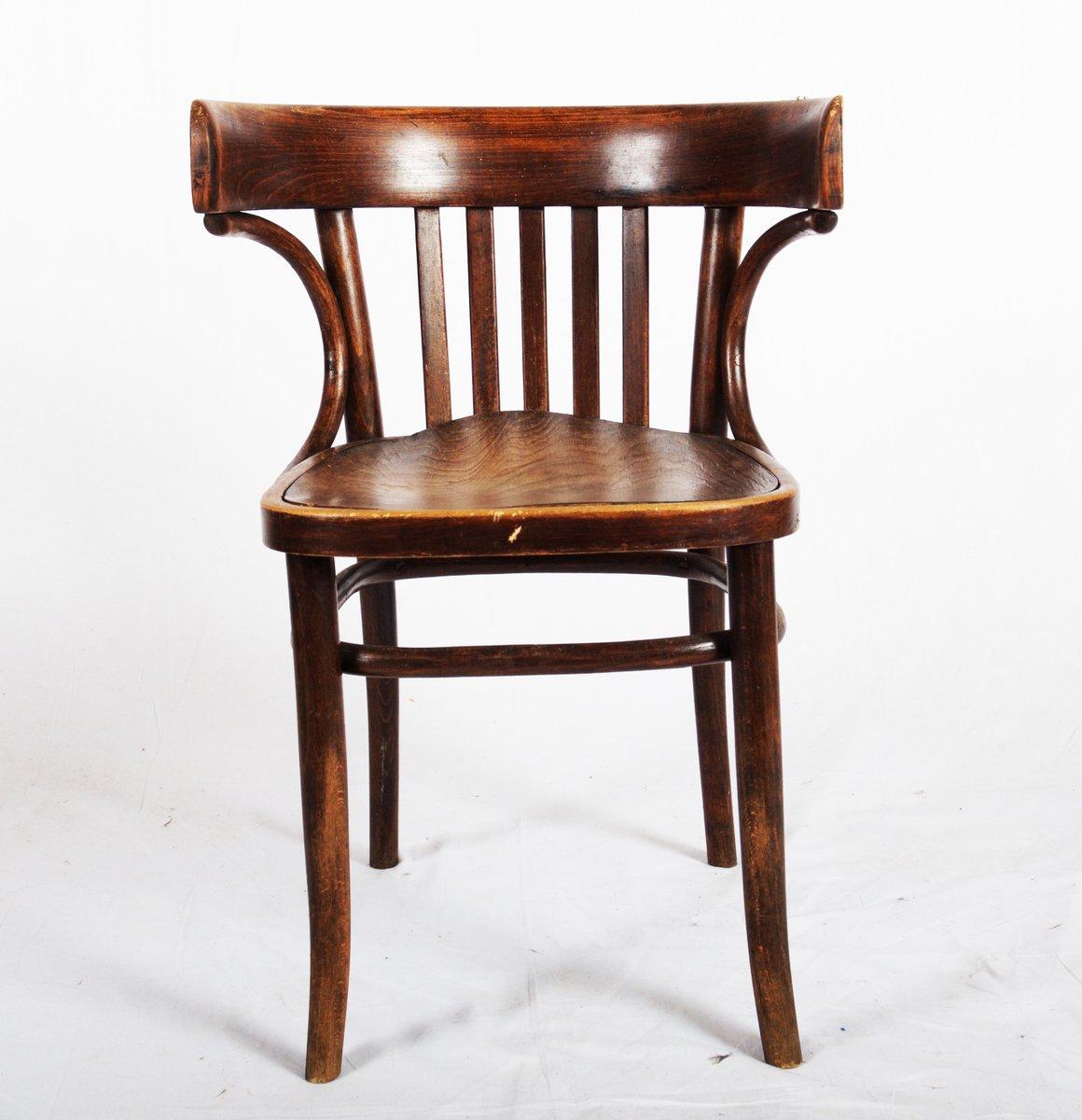 chaise de bistrot par michael thonet 1920s en vente sur pamono. Black Bedroom Furniture Sets. Home Design Ideas