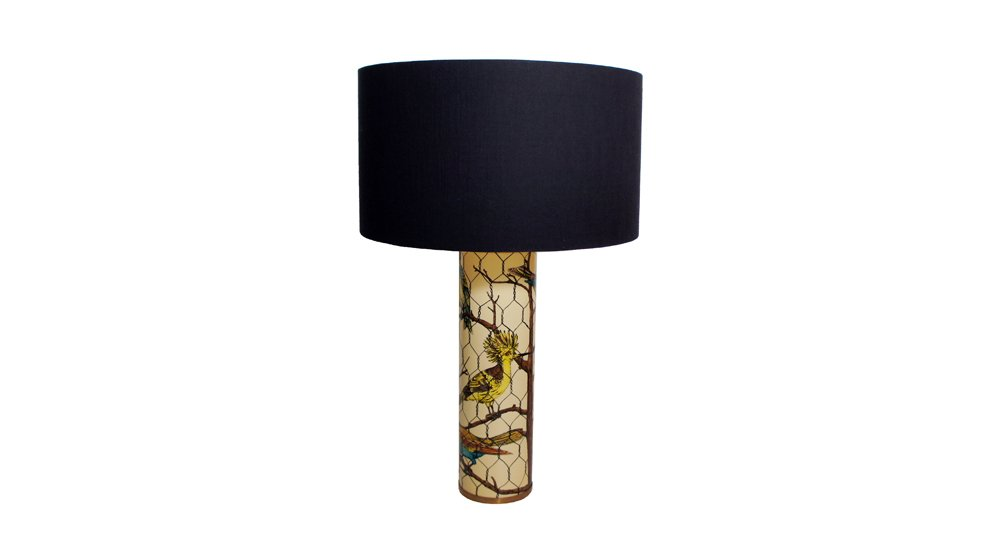 Birds table lamp by piero fornasetti 1950 en venta en pamono birds table lamp by piero fornasetti 1950 aloadofball Image collections