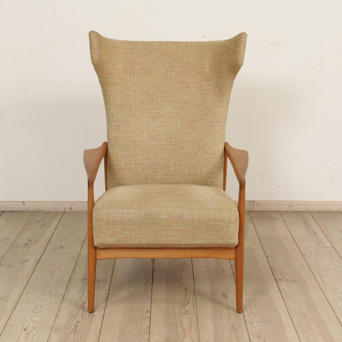 skandinavischer ohrensessel bei pamono kaufen. Black Bedroom Furniture Sets. Home Design Ideas