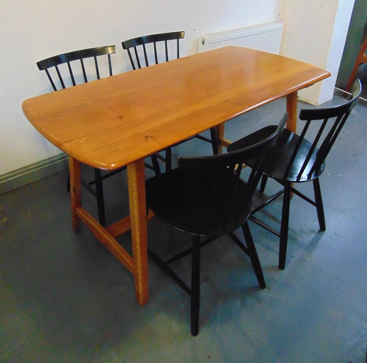 elm trestle dining table from ercol1950s elm trestle dining table from ercol1950s for sale at pamono  rh   pamono com