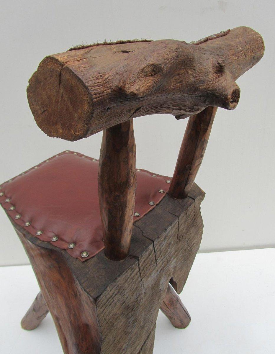 Baumstamm Stuhl With Baumstamm Schrank