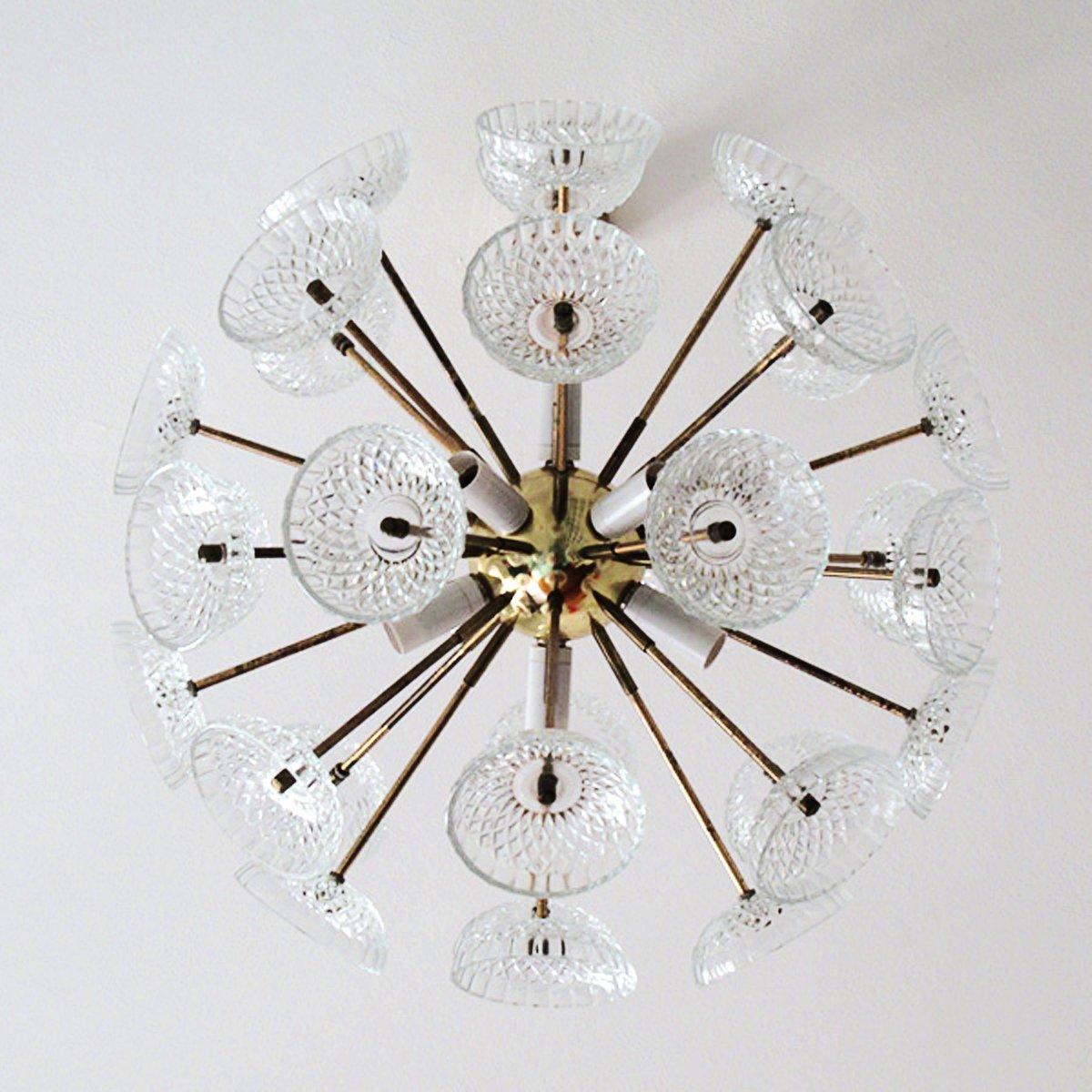lighting glenties sputnik picture of mullan chandelier brass light en