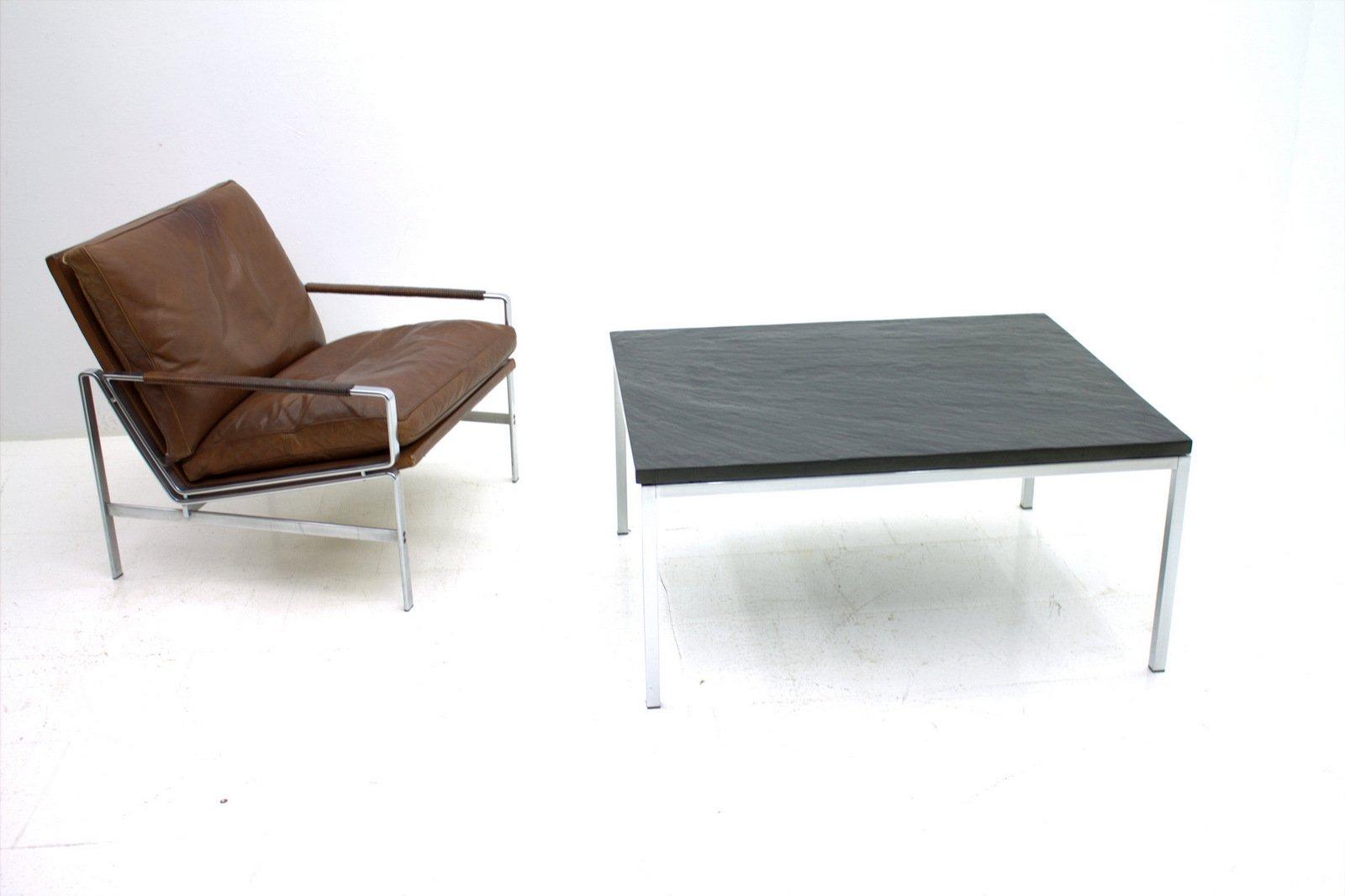 table basse par florence knoll bassett pour knoll en vente sur pamono. Black Bedroom Furniture Sets. Home Design Ideas