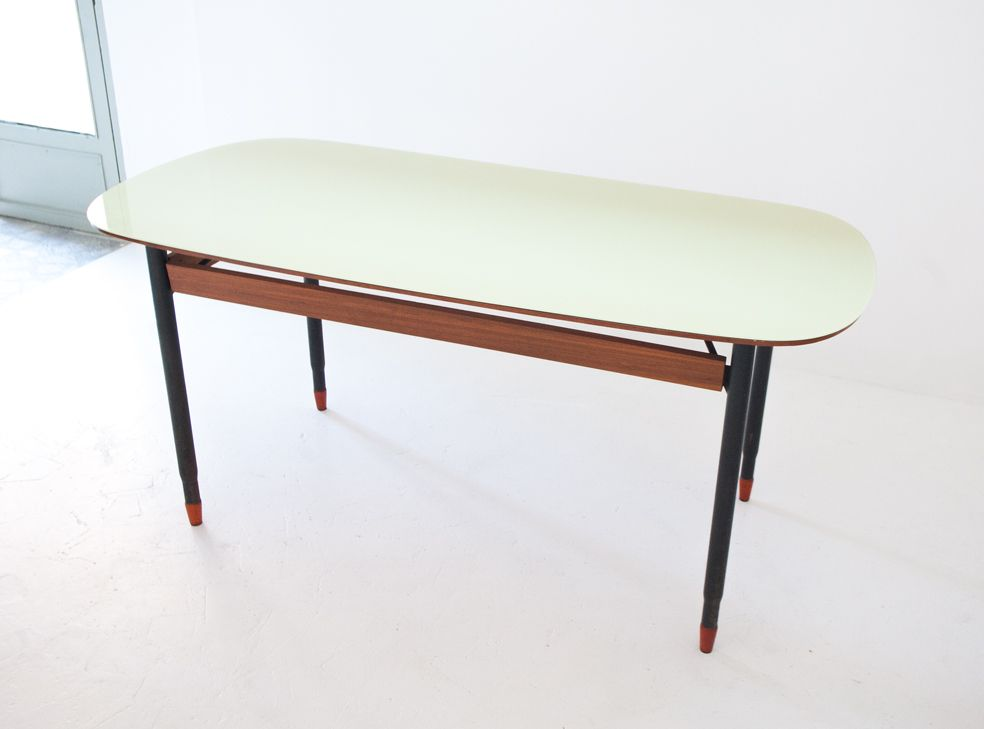 mid century modern dining table. Italian Mid Century Modern Dining Table