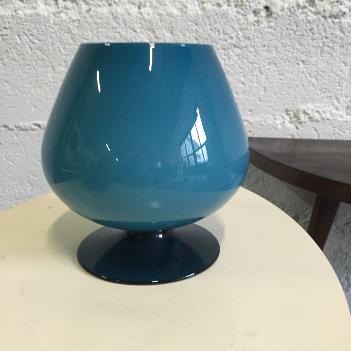 Vintage blown glass vase with lid for sale at pamono vintage blown glass vase with lid reviewsmspy