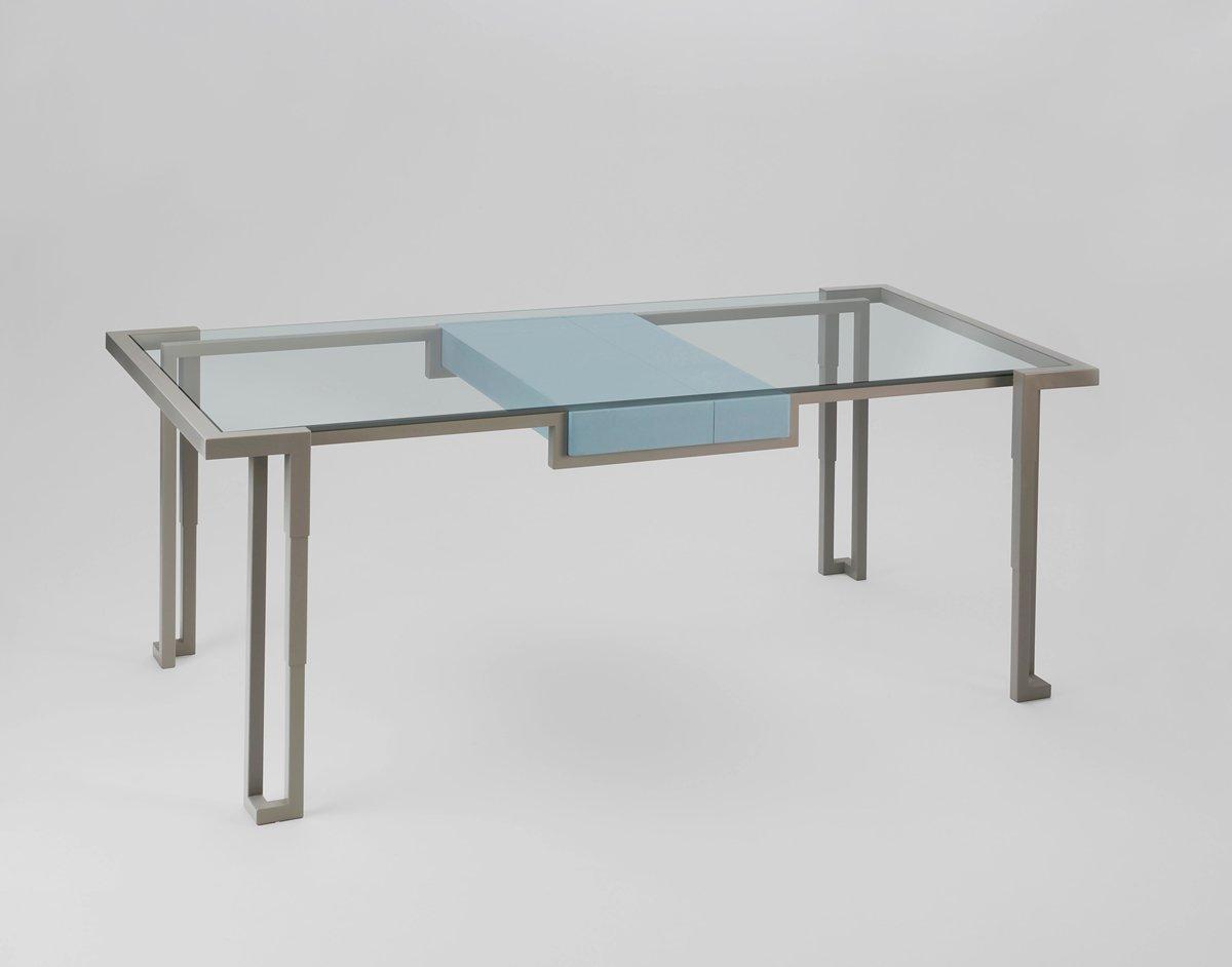 modell island 4 esstisch von kranen gille bei pamono kaufen. Black Bedroom Furniture Sets. Home Design Ideas