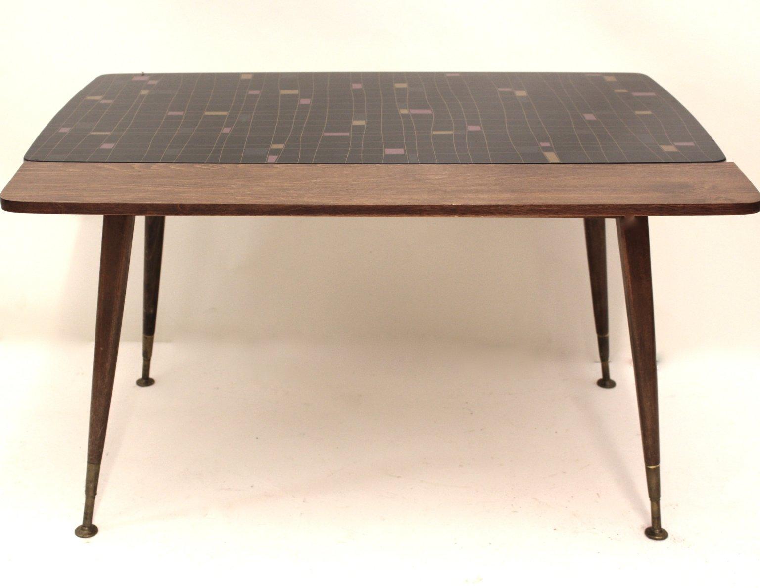 Ausziehbarer tisch mit mosaikmuster 1950er bei pamono kaufen for Ausziehbarer tisch