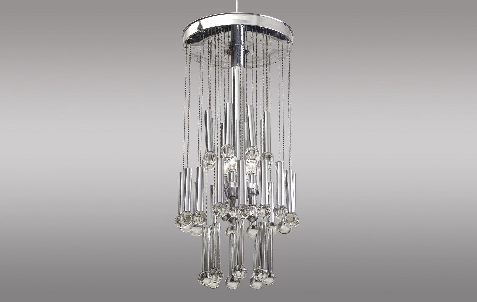Steel glass pendant lamp by gaetano sciolari 1960s en venta en pamono steel glass pendant lamp by gaetano sciolari 1960s aloadofball Image collections