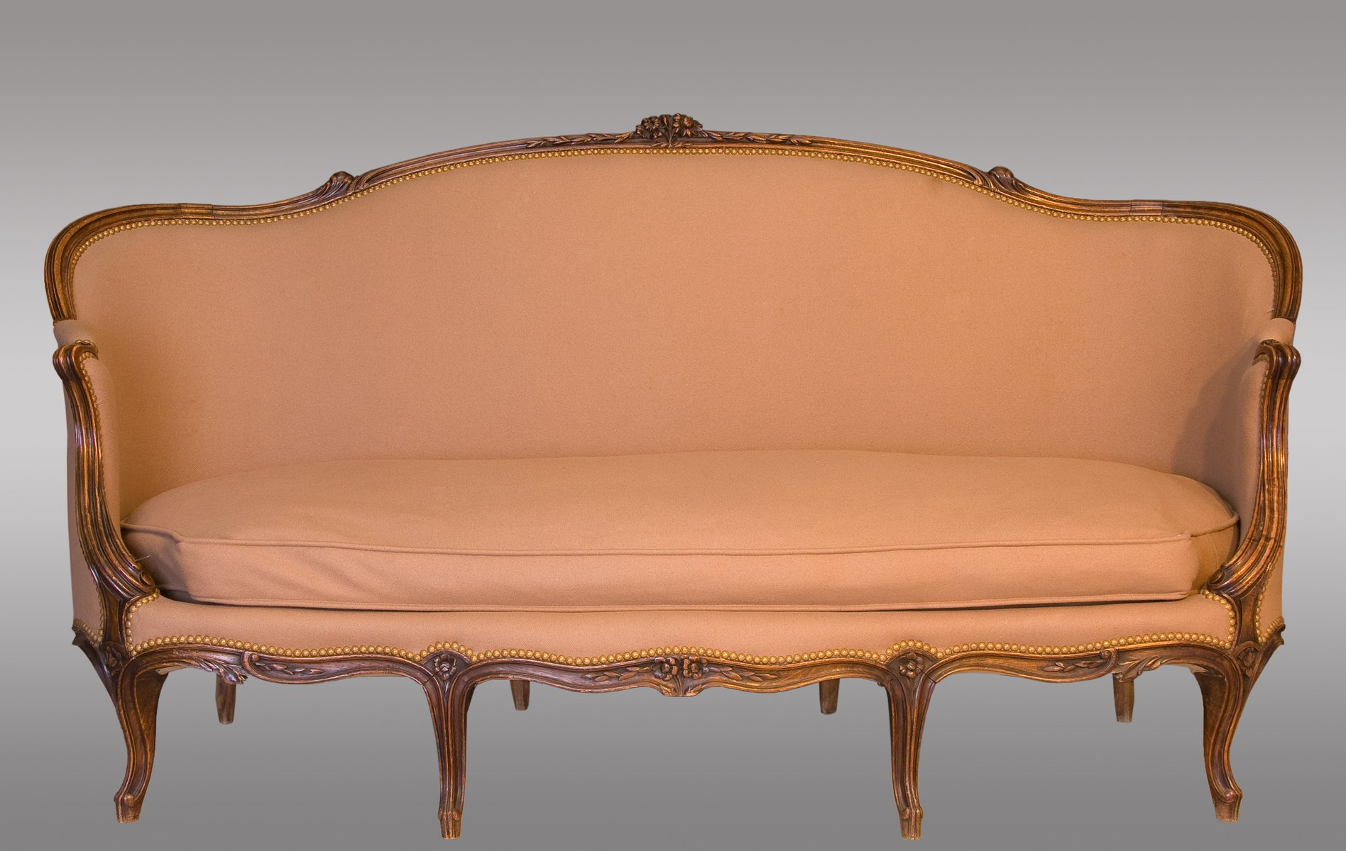 Antique French Louis XV Canapé for sale at Pamono