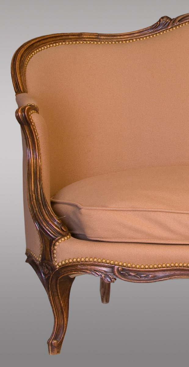 Antique french louis xv canap for sale at pamono for Canape french translation