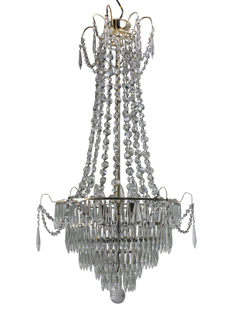 Swedish chandeliers 1930s set of 2 for sale at pamono price per set mozeypictures Choice Image