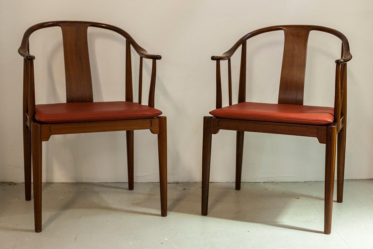 China Chair By Hans Wegner For Fritz Hansen, 1966