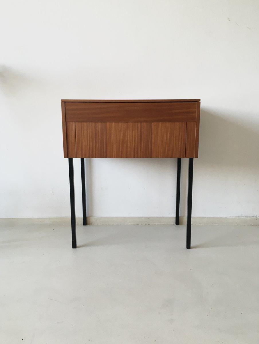vintage holz n hmaschinenschrank 1960er bei pamono kaufen. Black Bedroom Furniture Sets. Home Design Ideas
