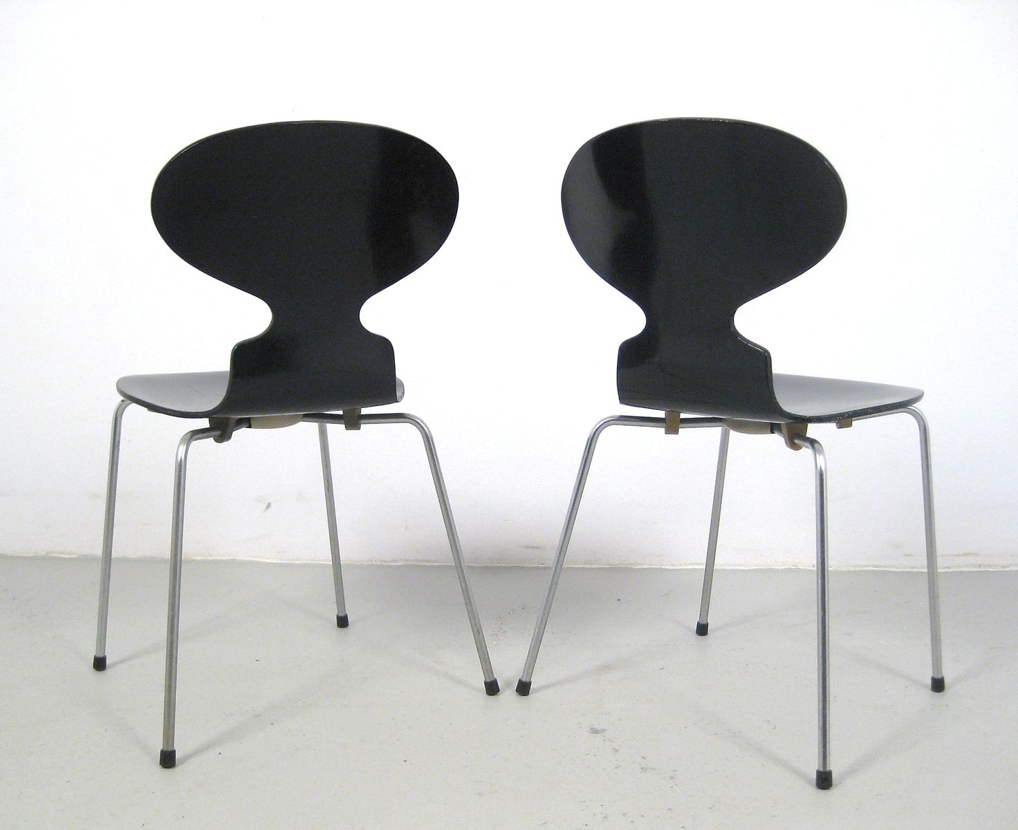 3101 st hle von arne jacobsen f r fritz hansen 1988 4er set bei pamono kaufen. Black Bedroom Furniture Sets. Home Design Ideas