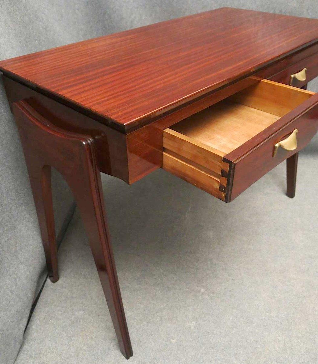 mid century mahagoni schreibtisch bei pamono kaufen. Black Bedroom Furniture Sets. Home Design Ideas