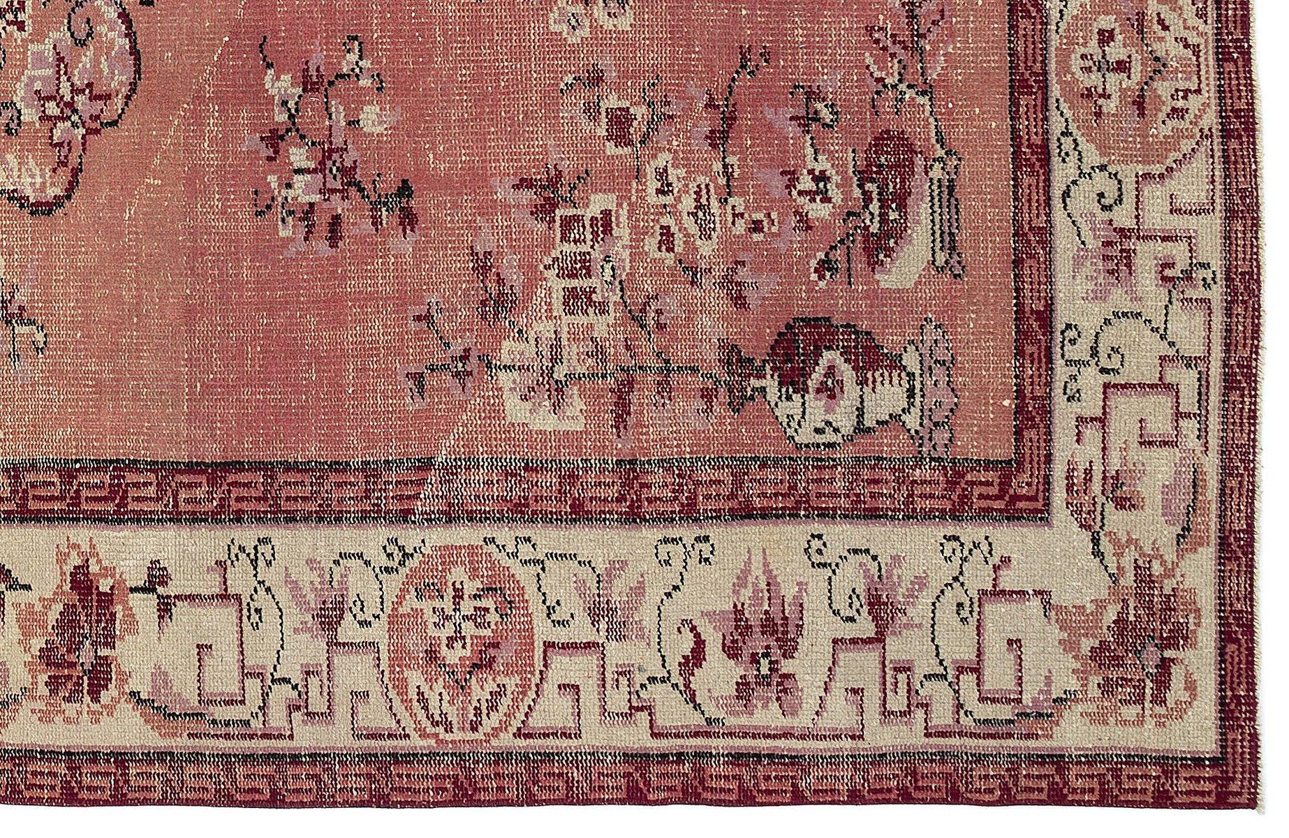 tapis turc vintage rouge en vente sur pamono. Black Bedroom Furniture Sets. Home Design Ideas