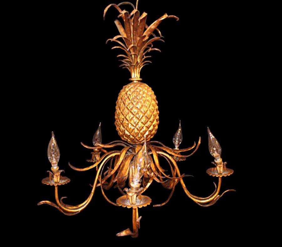 Pineapple chandelier 1940s for sale at pamono pineapple chandelier 1940s aloadofball Gallery