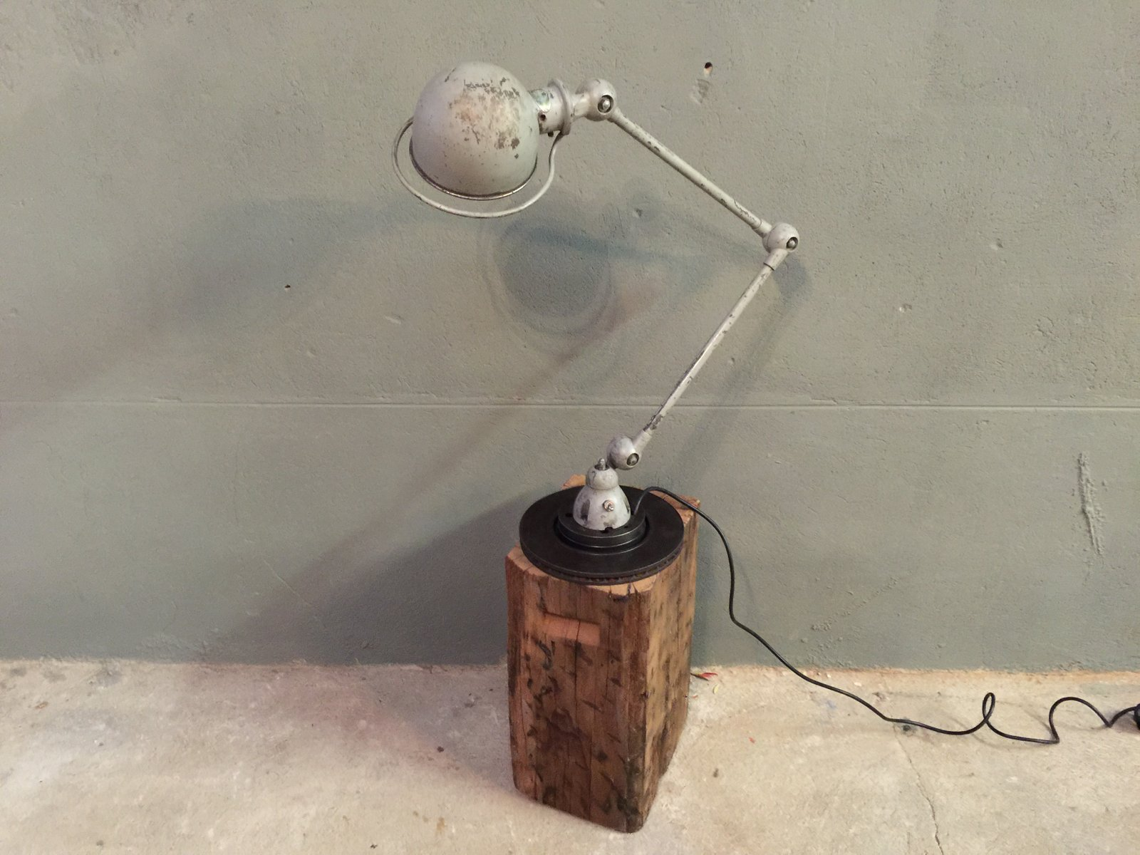 aged lamps black industrial awesome accents inches ideas light lamp unique with design table gold trim height home of