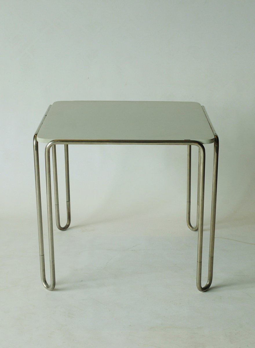 Exceptional B10 Table By Marcel Breuer For Thonet
