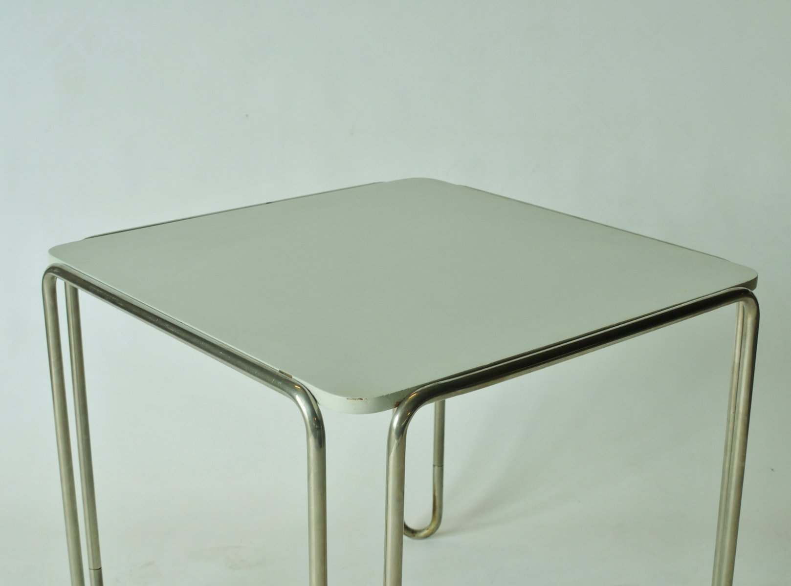 b10 table by marcel breuer for thonet for sale at pamono - Marcel Breuer Tisch