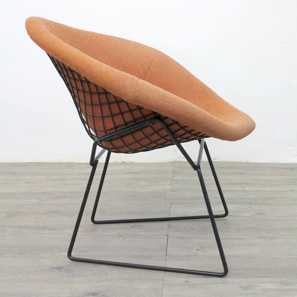 Vintage Diamond Chair By Harry Bertoia For Knoll 1970s