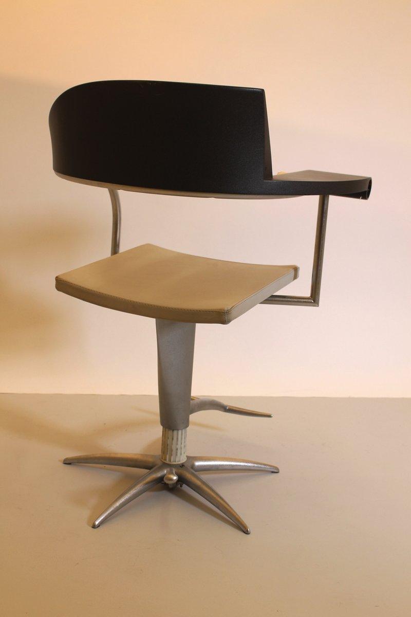 drehstuhl mit aschenbecher von philippe starck bei pamono kaufen. Black Bedroom Furniture Sets. Home Design Ideas