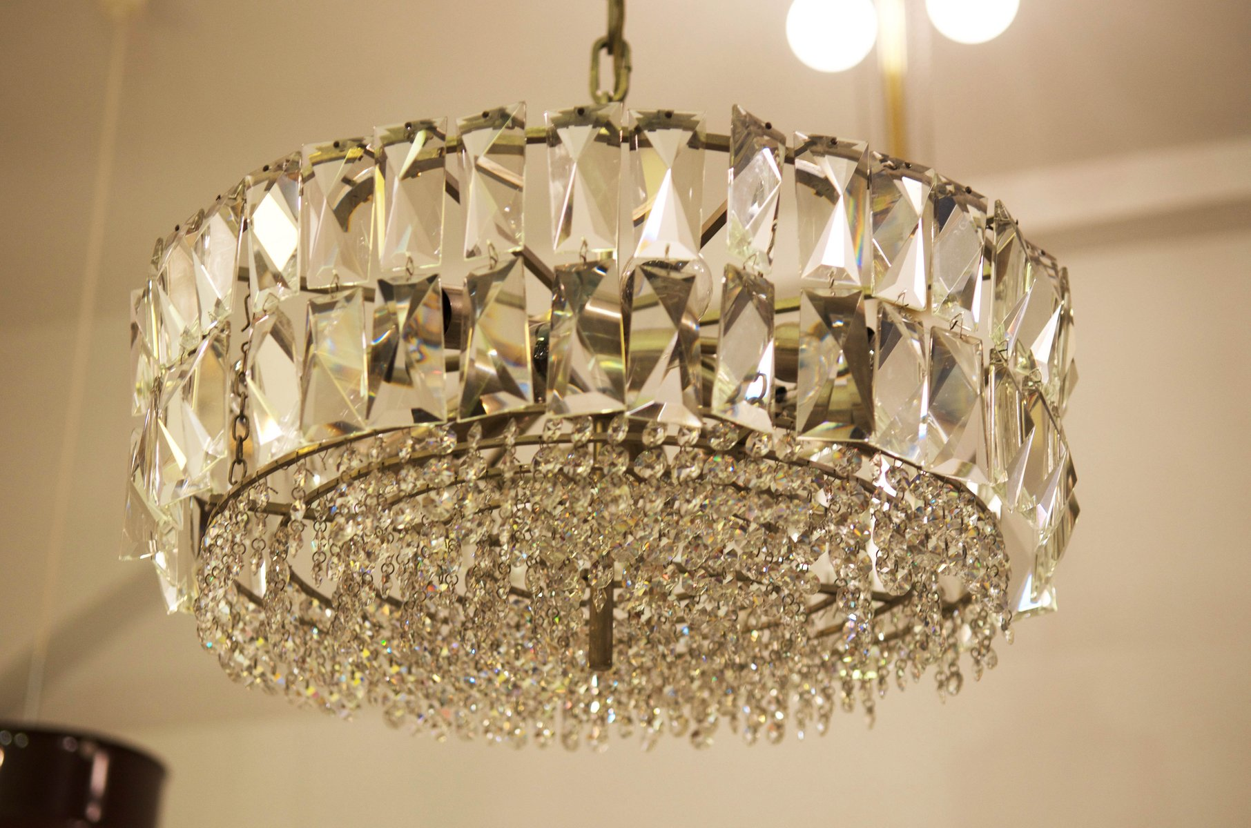 Cut Crystal Chandelier from Bakalowits & Söhne for sale at Pamono