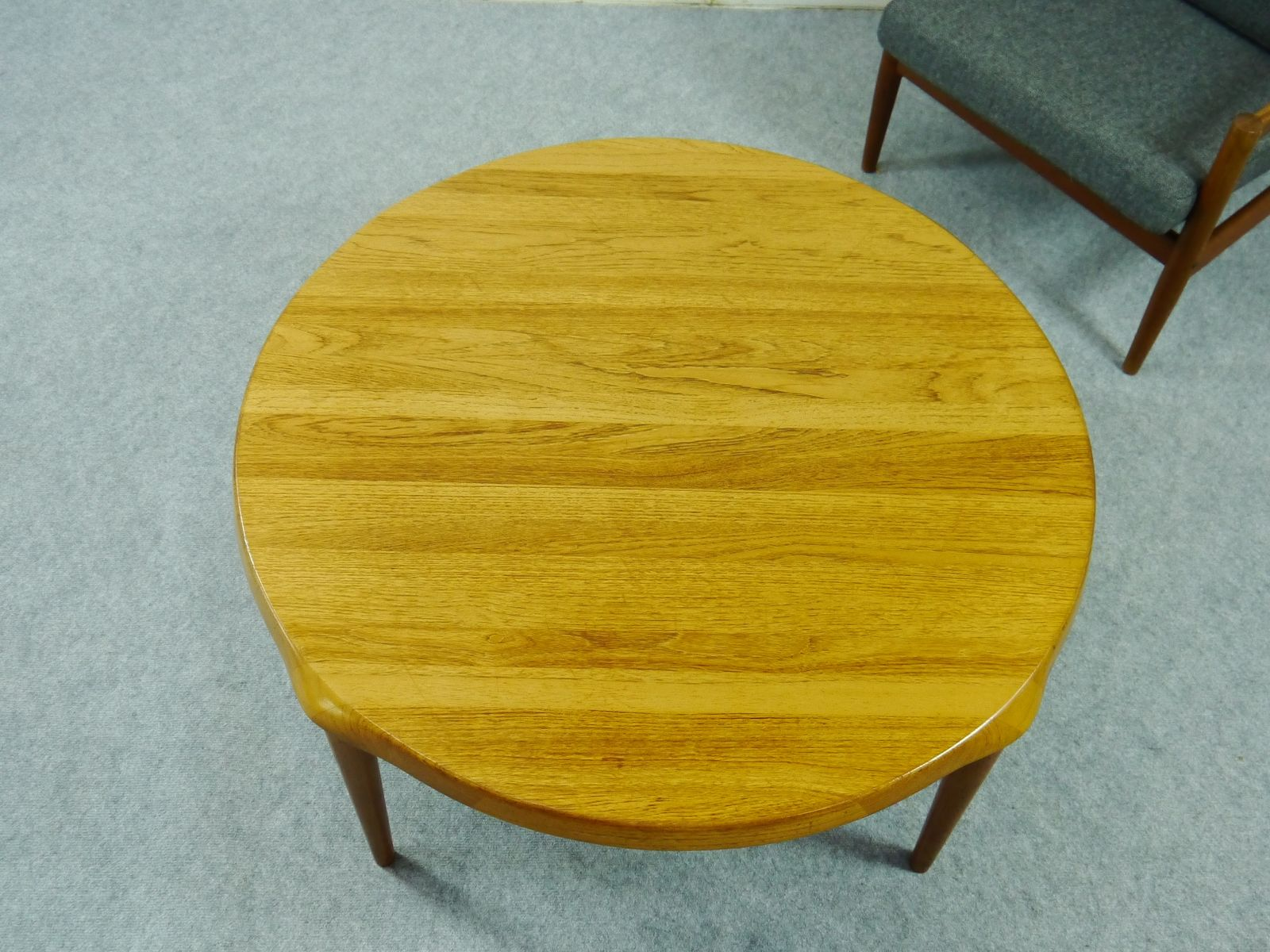 Danish Midcentury Teak Coffee Table by John Bone for Mikael