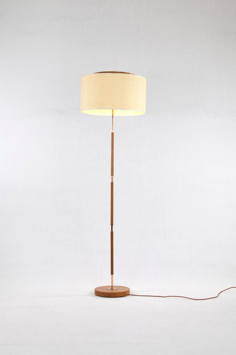 gooseneck lamp en floor kare copper de shop design