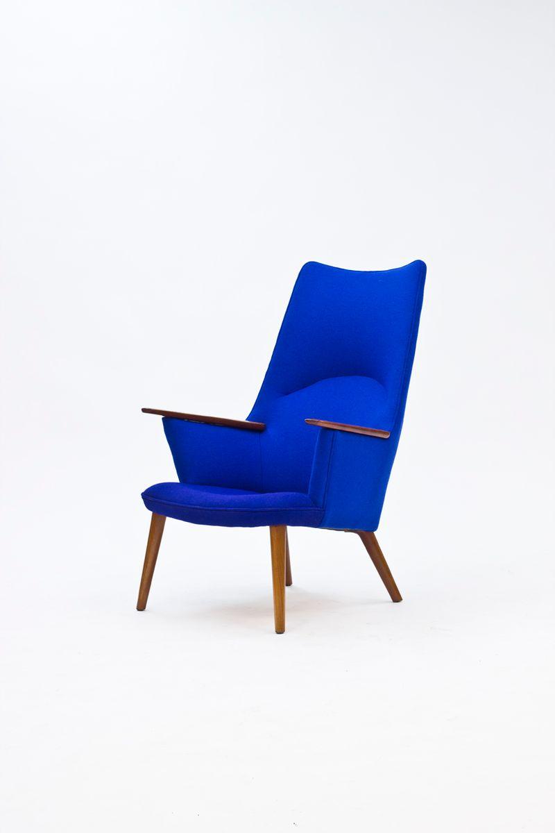 ap 27 sessel von hans j wegner f r a p stolen 1960er. Black Bedroom Furniture Sets. Home Design Ideas